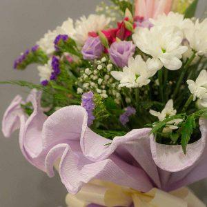 Detalle de flores para ramo de tamaño pequeño