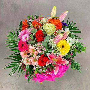Ramo de flores para impresionar para regalar en la Floristería Yerba de La Victoria